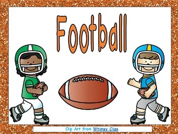 Football- Nonfiction Shared Reading- Level C Kindergarten