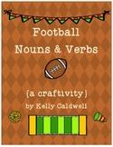 Football Nouns & Verbs {a craftivity}