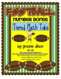 Football Number Bonds Tiered Math Tub