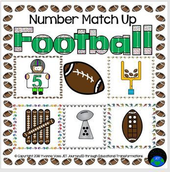 Football Number Match Up
