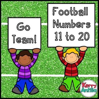 Football Numbers 11-20
