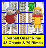Football Onset Rime Word Building Blending Activitiies