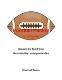 Football Packet 2nd - 4th grade