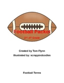 Football Packet 2nd - 4th grade