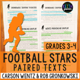 Football Paired Texts: Carson Wentz and Rob Gronkowski (Gr