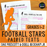 Football Paired Texts: Dak Prescott and Odell Beckham Jr.