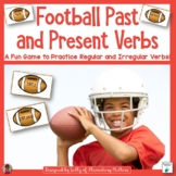 Football Themed Past and Present Verbs