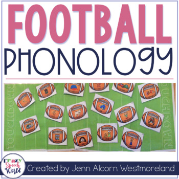 Football Themed Phonological Processes Game for Speech Therapy