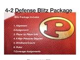 Football Playbook- Program Starter 4-2 Blitz Package