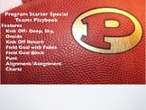 Football Playbook- Program Starter Special Teams