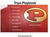 Football Playbook- Program Starter Trips Formation