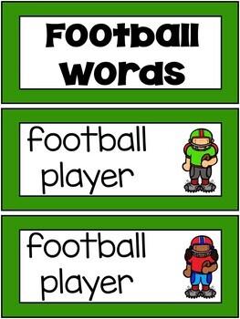 Football Player Craftivity