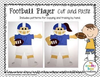 Sports Craft {Football Player}