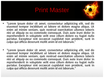 Football PowerPoint Template