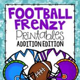 Football Printables {Addition Edition}