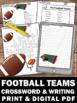 Football Theme, Back to School Activities, Emergency Sub P