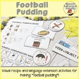 Football Pudding: Recipe, Visuals, and Activities