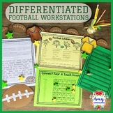 Football Reading Centers and/or Workstations