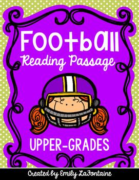 Football Reading Comprehension Passage