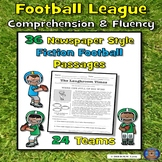 Football Reading Comprehension, Football Reading Passages, Funny Reading