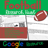 Football Research Hunt - Google Edition