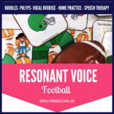 Resonant Voice Therapy Football for Speech Therapy