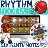 Football Rhythms Sixteenth Notes