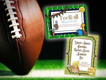 Football SUPER Bundle {A SUPER Bundled set of activities for the music room}