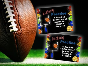 Football SUPER Bundle {A SUPER Bundled set of activities for the music room}