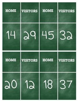 Football Scoreboard Challenge