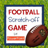 Football Scratch-Off Game for PowerPoint