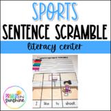 Football Sentence Scramble