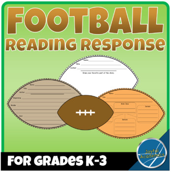 Football Shaped Reading Response Sheets for Any Book