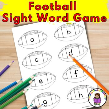 Football Sight Word Game