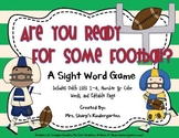Football Sight Word Game - Are You Ready For Some Football?