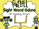 Football Sight Word Game {Kindergarten SF Reading Street Words}