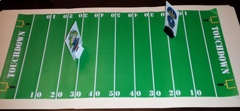 Football Sight Word Game We Want a Touchdown