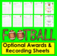 Football Sight Words Activities- SET TWO Last 120 Dolch -