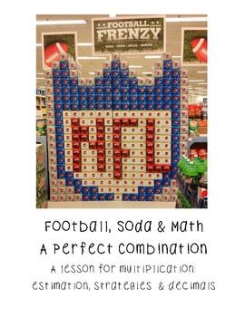 Football, Soda and Math: Multiplication Using Arrays