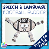Football Speech Therapy Craft