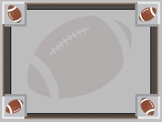Football Sports Borders and Background graphics - Commercial Use