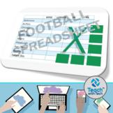 Excel Football Spreadsheet Activity