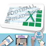 Excel Football Spreadsheet Activity