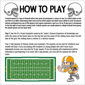 Football Squares: Engaging Fundraiser Templates