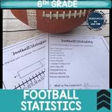 Football Statistics Box Plot Activity