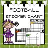 Football Sticker Chart