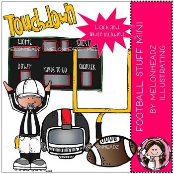 Football Stuff clip art - Mini - by Melonheadz