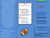 Football Summer Camp Flyer