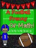 Football Sunday Math Printables
