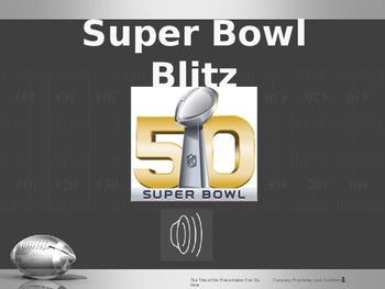 Football Super Bowl game